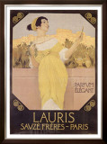 Lauris Savze Freres Paris Framed Giclee Print