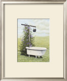 Bird Bath Posters by Kathleen Green