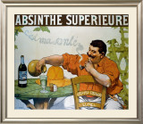 Absinthe Superieur Framed Giclee Print by Victor Leydet