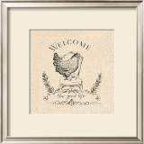 Good Life Chicken Prints by Marco Fabiano