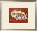 Le Tigre Print by Laurence David
