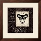 Believe Print by Jo Moulton