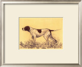 Hunting Dogs, Pointer Print by Andres Collot