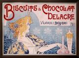 Delacre Framed Giclee Print by Privat Livemont