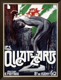 Les Quat'z Arts Framed Giclee Print by Georges Rogier