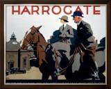 Harrogate, LNER Poster, 1930 Framed Giclee Print by Frank Newbould