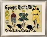 Georges Richard Framed Giclee Print by Fernand Fernel