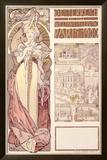 Osterreich, Paris, 1900 Framed Giclee Print