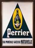 Perrier Framed Giclee Print