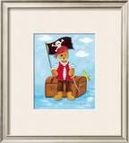 Le Pirate Posters by Lynda Fays