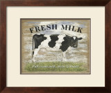 Fresh Milk Prints by Martin Wiscombe