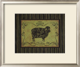 Le Mouton Print by Sophie Devereux