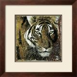 Tiger Portrait Poster by Fabienne Arietti
