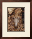 The Knight and his Horse Print by Antonio Pisani Pisanello