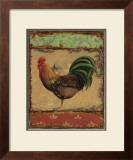 Rooster Portraits IV Prints by Daphne Brissonnet