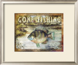 Gone Fishing Posters by Paul Brent