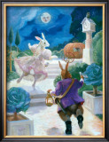 Cinderella Rabbit Poster by Dot Bunn