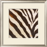 Contemporary Zebra III Prints by Patricia Quintero-Pinto