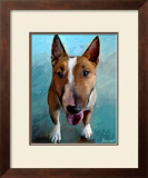 Spike Bull Terrier Posters by Robert Mcclintock