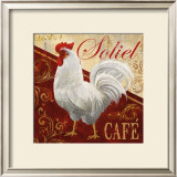 Soliel Cafe Posters by Conrad Knutsen