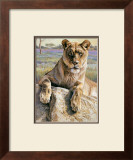 Serengeti Lioness Prints by Kalon Baughan