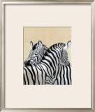 The Zebra Posters by Noelle Triaureau