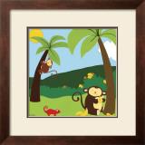 Jungle Jamboree II Prints by Erica J. Vess