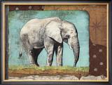 Elephant Print by Gwenaëlle Trolez