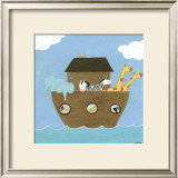 Noah's Ark I Art by Erica J. Vess