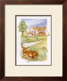 Spring, Deer Posters