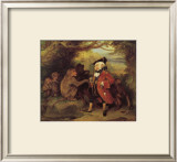 The Monkey who had seen the World Framed Giclee Print by Edwin Landseer