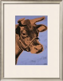 Cow, c.1971 (Purple and Orange) Prints by Andy Warhol