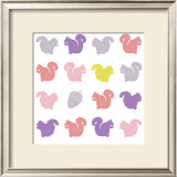 Animal Sudoku in Pink VI Print by Chariklia Zarris
