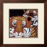 Sun Tigers Art by LISA BENOUDIZ