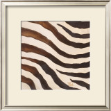 Contemporary Zebra IV Print by Patricia Quintero-Pinto