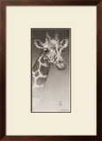 Jean, the Giraffe Poster by Robert L. Caldwell