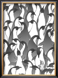 Penguin Family I Art by Charles Swinford