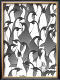 Penguin Family I Art by Charles Swinford