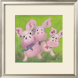 The Three Little Pigs Posters by Nat
