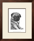 Ralph the Pug Posters by Beth Thomas