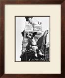 Boulevard Poissonie`re, c.1957 Posters by  Izis
