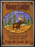 Moose Lodge Art by Debi Hron