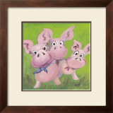 The Three Little Pigs Art by Nat