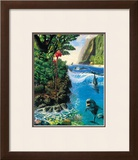 Island Harmony Framed Giclee Print by Andrew Annenberg