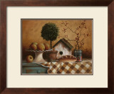 Birdhouse and Topiary Prints