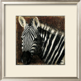 Zebra Portrait Poster by Fabienne Arietti