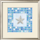 Mosaic Starfish Posters by Paul Brent