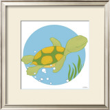 Timothy the Turtle Print by Erica J. Vess