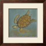 Sea Turtle II Poster by Norman Wyatt Jr.