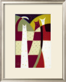 Three Cats Posters by Govinder Nazran